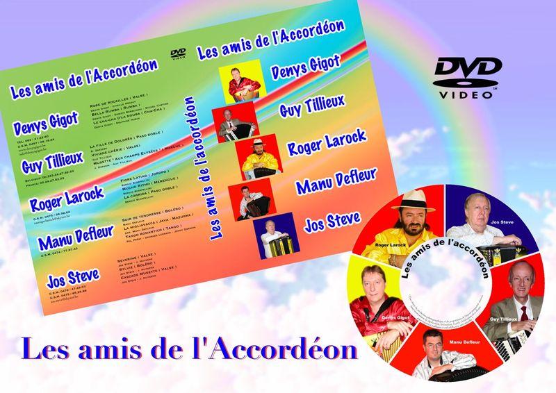 LES AMIS DE L'ACCORDEON - DVD