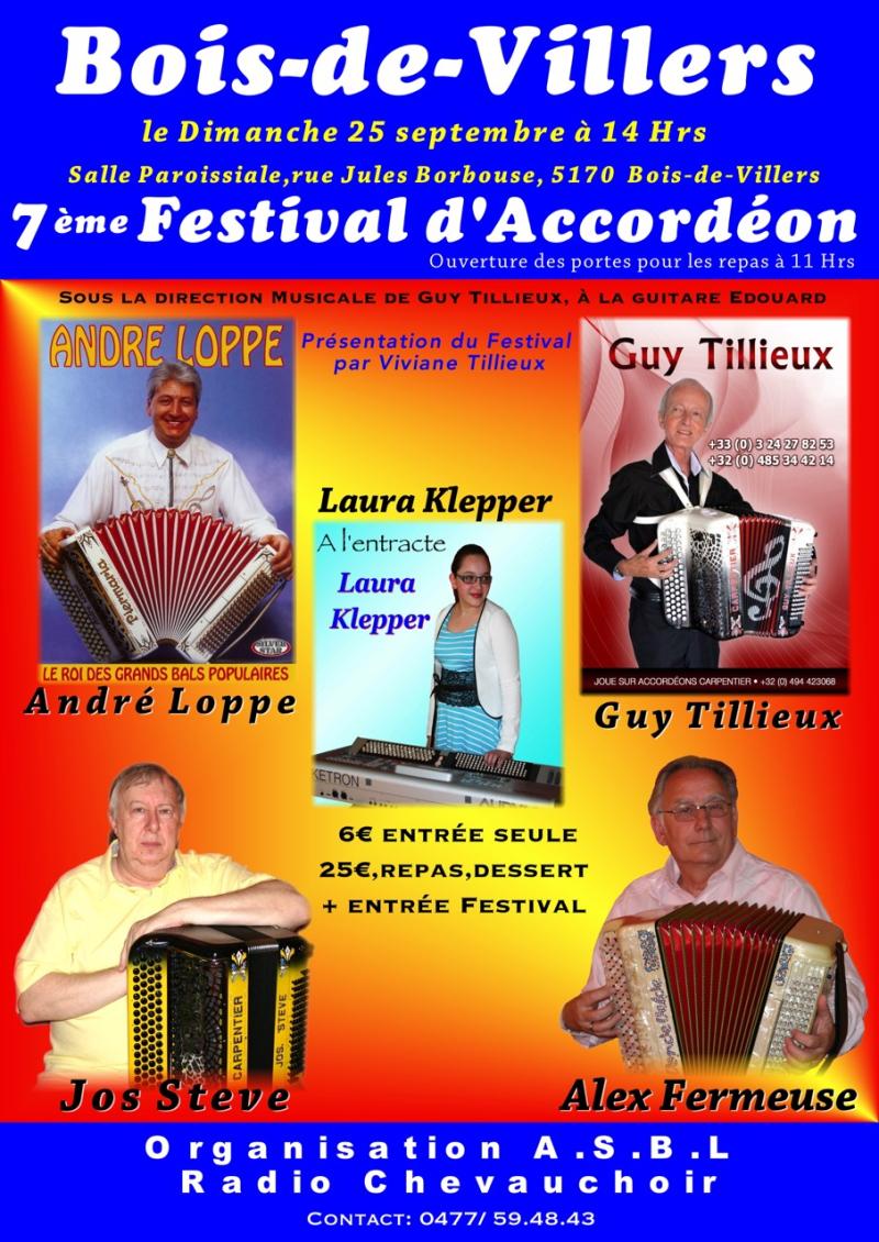 7ème Festival Accordéon B-D-V 2016